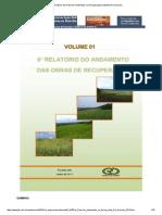 6° Relatório dos Passivos Ambientais na Recuperação Ambiental Rio Deserto