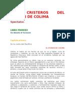 Los Cristeros Del Volcán de Colima (fragmento).