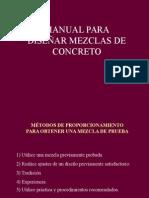 Manual Para diseñar mezclas de concreto.ppt
