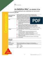 manual tecnico Membrana Asfáltica Sika Con Aluminio