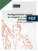Hostigamiento Sexual en Mujeres y Varones