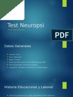 Test Neuropsi