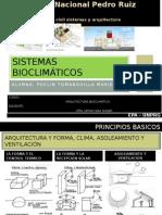 Sistemas bioclimáticos