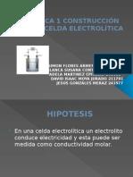 Construccion de Una Celda Electrolitica Final