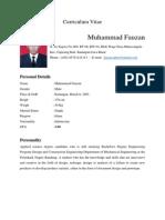 CV Muhammad Fauzan