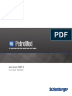 PetroMod 2014.1 Release Notes