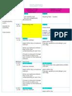 weekly planner 2015 term 1 week 4