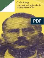 La Psicología de La Transferencia. Carl Gustav Jung