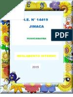 Reglamento Interno 2015 Jimaca
