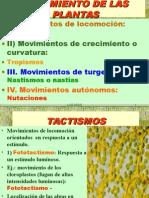 Movimientos Plantas
