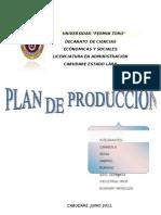 Plan de Produccion Crema de Leche