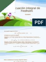Ecuación Integral de Fredholm