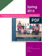 jennifer jurvas professioal development portfolio (2) final 2