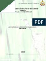 factores bioticos, abioticos y antropicos