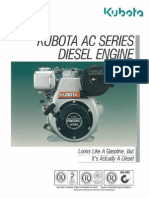 All Class Construction - Kubota AC Series Diesel Engine
