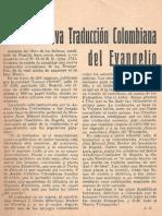 Traducción Colombiana Del Evangelio