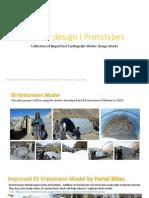 Shelter Design I Prototypes