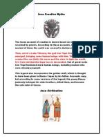 Inca Creation Myths