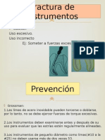 Accidentes en Endodoncia Sem #3