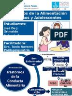 Trastornos de La Alimentación en Niños y Adolescentes