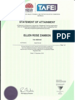 first aid certificate 2012-2015