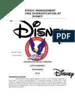 Disney Stratman Strategic Management