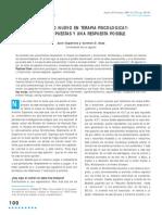 Capafons, Juan & D. Sosa, Carmen - Hay Algo Nuevo en Terapia Psicológica; Tres Propuestas y Una Respuesta Posible