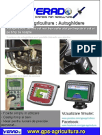 Autoghidare GPS Agricultura