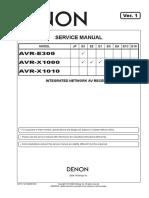Denon  AVR - E300,X 1000,X1010 .pdf