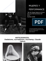 Mujeres y Performance