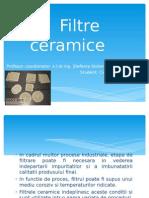 filtre ceramice