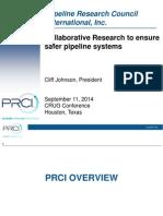 Collaborative Research to Ensure PRCI