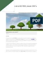La Evolución de La ISO 9001