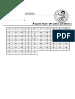 03 Thermodynamics Process Answersheet