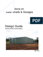 Wind Actions Steel Sheds 2010(Australia)