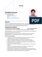 RESUME Electrical