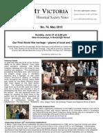 Newsletter 74, 2015 - ClydeQuay Sch