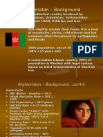 Afghanistan and Canada Role - Example for IR