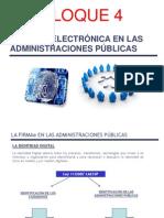 Firmae Bloque 4 Firma Electrónica Adm.pública