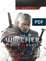 Witcher 3 Wild Hunt, The - Game_Manual_PC_EN