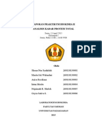 Analisis Kadar Protein Senin Kelompok 1 13.00-16.00