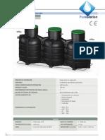 Ep600 Datos Tecnicos Depuradora Oxidacion Total Saneamador