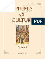 Spheres of Culture, V. 1