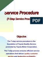 7-Steps Service Operation