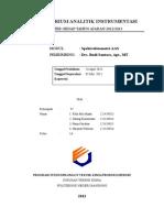 Laporan Spektrofotometri AAS-kel 4 Final