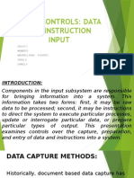 Data and Instruction Input