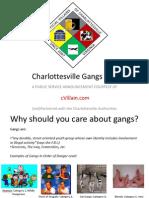 Charlottesville Gangs