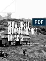 ICSC Slow Onset Impacts of Climate Change