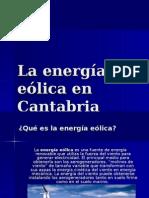 La Energía Eólica en Cantabria(Patricia Ruiz Villar)