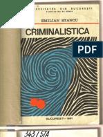 Criminalistica - Emilian Stancu